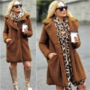Soft Teddy Bear Coat Trendy Fall 2019 Comfy Cozy
